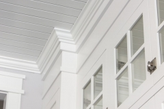 Kochmann Brothers Homes custom luxury kitchen bright white