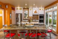 Kochmann Brothers Homes custom luxury kitchen lake home
