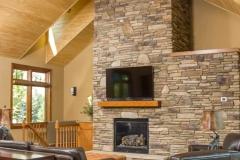 Kochmann Brothers Homes custom luxury lake home living room
