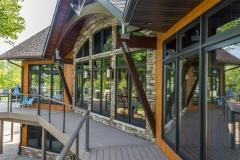 Kochmann Brothers Homes custom luxury lake home deck