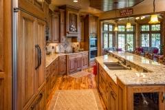 Kochmann Brothers Homes custom luxury lake home kitchen