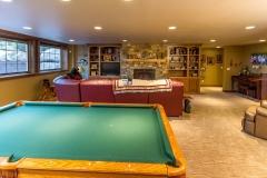 Kochmann Brothers Homes custom luxury lake home family room