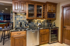 Kochmann Brothers Homes custom luxury lake home kitchenette