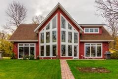 Kochmann Brothers Homes custom luxury lake home lakeside exterior