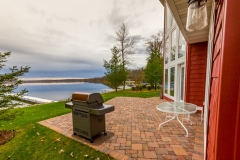 Kochmann Brothers Homes custom luxury lake home exterior patio