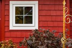 Kochmann Brothers Homes custom luxury lake home exterior window detail