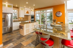 Kochmann Brothers Homes custom luxury lake home kitchen and dining