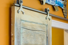 Kochmann Brothers Homes custom luxury lake home barn door