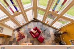 Kochmann Brothers Homes custom luxury lake home living room and windows