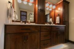 Kochmann Brothers Homes custom luxury lake home bathroom