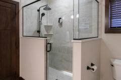 Kochmann Brothers Homes custom luxury lake home custom tile shower