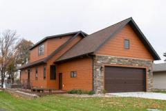 Kochmann Brothers Homes custom luxury lake exterior