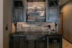 Kochmann Brothers Homes custom luxury lake wet bar