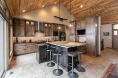 Kochmann Brothers Homes custom luxury lake kitchen