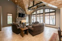 Kochmann Brothers Homes custom luxury lake living room