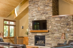 Kochmann Brothers Homes custom luxury living room fireplace