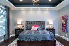 Kochmann Brothers Homes custom luxury bedroom - photo by Area Women Magazine in Fargo