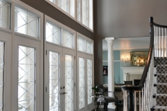 Kochmann Brothers Homes custom luxury entry with large windows
