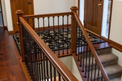 Kochmann Brothers Homes custom luxury entry with stairs