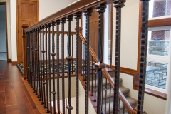 Kochmann Brothers Homes custom luxury stair railing