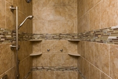 Kochmann Brothers Homes custom luxury remodel walk in shower