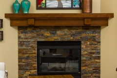 Kochmann Brothers Homes custom luxury remodel fireplace