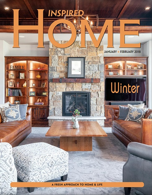 Kochmann Brothers Homes published in Inspired Home Magazine of Fargo