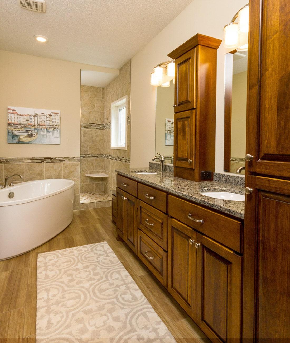 Building Custom Luxury Remodeling - bathroom remodel